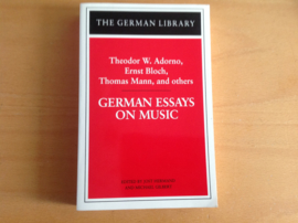 German essays on music - T.W. Adorno / E. Bloch / T. Mann en anderen