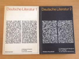 Set a 2 x Deutsche Literatur 1 + 2 - G. Wohlgemuth-Berglund