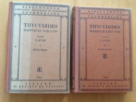 Thucydides historiae, volume 1 en 2 - C. Hude