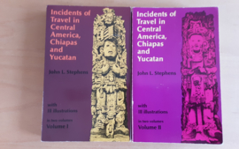 Set a 2x Incidents of Travel in Central America, Chiapas and Yucatan - J.L. Stephens