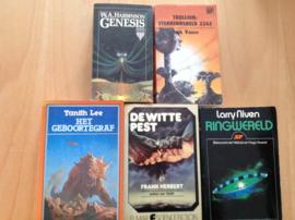 Pakket a 5x Science fiction
