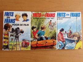 Set a 3x Frits en Frans - J. de Bruin