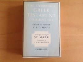 The Cambridhge Greek Testament Commentary - C.F.D. Moule