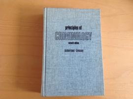 Principles of criminology - E.H. Sutherland / D.R. Cressey