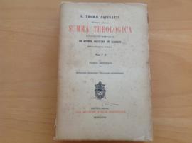 Pakket a 6x Summa theologica - S. Thomae Aquinatis