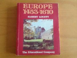 Europe 1453-1610 - A. Lovett