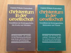 Christentum in der Gesellschaft 1 + 2 - F.W. Kantzenbach