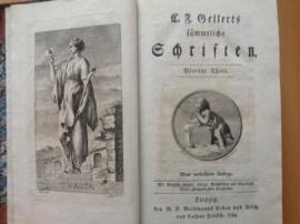 Sämmtliche Schriften - C.J. Gellert