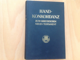 Handkonkordanz zum griechischen Neuen Testament - A. Schmoller