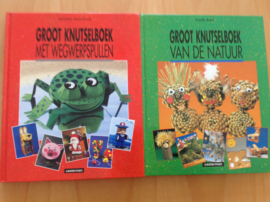 Set a 2x Groot knutselboek - B. Theulet-Luzie / U. Barff
