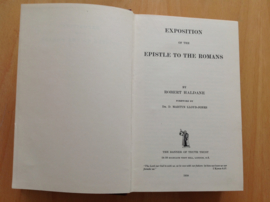 Exposition of the epistle to the Romans - R. Haldane