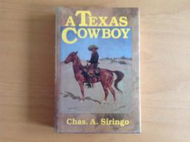A Texas cowboy - C.A. Siringo
