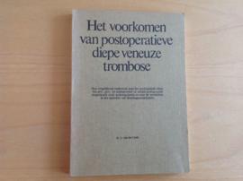 Het voorkomen van postoperatieve diepe veneuze trombose - D.L. van der Linde