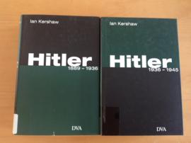 Pakket a 2x Hitler,  1889-1936 en 1936-1945 - I. Kershaw