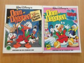 Pakket a 2x Oom Dagobert stripboeken