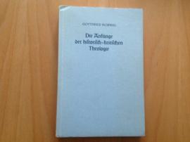 Die Anfänge der historisch-kritischen Theologie - G. Hornig