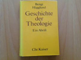 Geschichte der Theologie -B. Hägglund