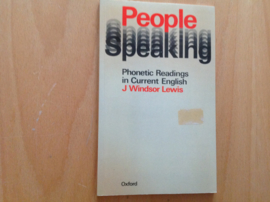 People speaking - J. Windsor Lewis