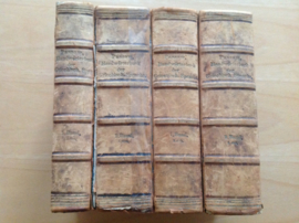 Handwörterbuch der Griechischen Sprache begründet von Franz Passow, 4 boeken
