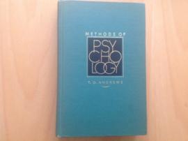 Methods of psychology - T.G. Andrews
