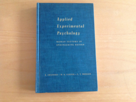 Applied Experimental Psychology - A. Chapanis / W.R. Gardner / C.T. Morgan