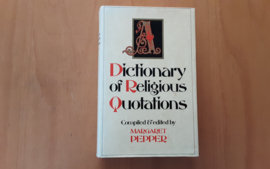 Dictionary of Religious Quotations - M. Pepper