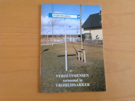 Verzetsmensen vernoemd in Vrijheidsakker in Barendrecht - A.M. Overwater