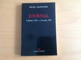 Journal 9 fevrier 1978 - 29 aout 1979 - M. Graindorge