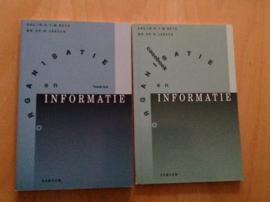 Set van 2x Organisatie en informatie, inclusief caseboek - R.T.M. Bots / W. Jansen