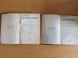 De geschriften der apostolische vaders, deel 1 en 2 - A.C. Duker / W.C. van Manen