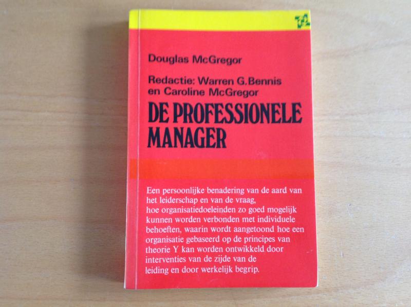 De professionele manager - D. McGregor