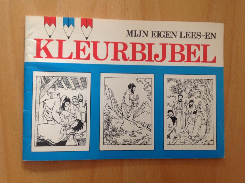 Mijn eigen lees- en kleurbijbel - A. Barmentlo