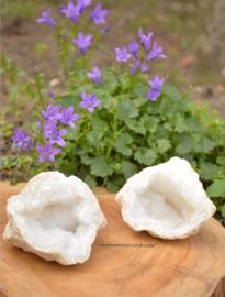 Bergkristal Geode set