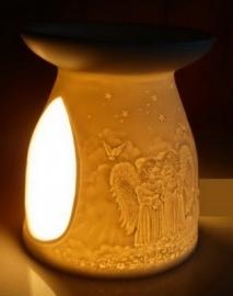 olie verdamper porselein angels