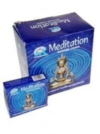 wierook kegeltjes meditation