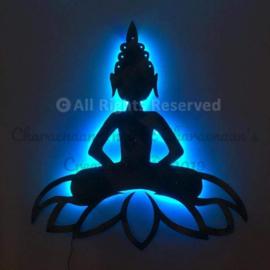 Buddha on Lotus.  Prijs op aanvraag!!