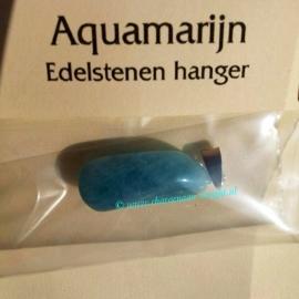 Aquamarijn hanger