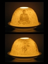 Boeddha sfeerlicht porselein