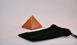 Monnikengoud Bruin  / Goudsteen Bruin Piramide