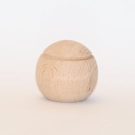 Pallina houten geurkogel 6,5 cm