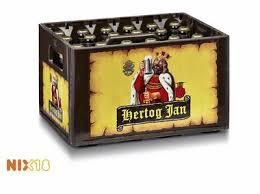 Hertog Jan krat 24x30 inc statigeld