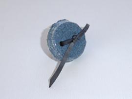 Ring keramiek blauw