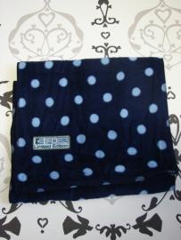 Sjaal donkerblauw, maat L