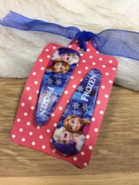 Haarspeldjes Frozen Elsa en Anna