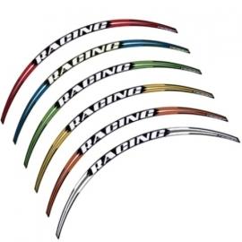 Wheelstripe Progrip 8 stuks Rood