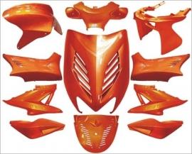 Aerox 11 delig kappenset Dmp special amber metalic