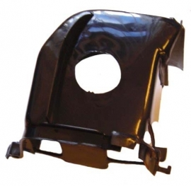 Koelkap cilinder Minarelli horizontaal ac zwart