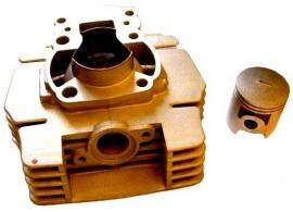 Cilinderkit Airsal 47 mm Suzuki TSX ( slechts 1 vooradig)
