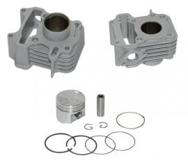Cilinderkit Speedfight 3 4t, Vivacity 4t, Tweet 50cc aluminium Dmp