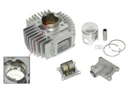 Cilinderkit 45mm aluminium / nikasil met membraan Dmp